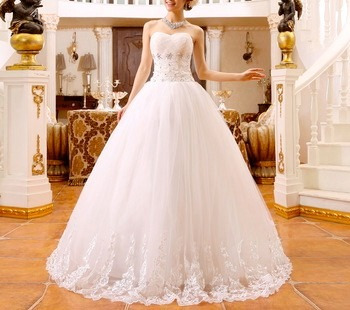 Vestido de novia de la bella