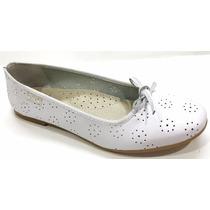 Zapatos Balerinas: Cuero Comunion N° 27 Al 40 Lapata Zapata