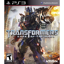 Transformers: Dark Of The Moon - Playstation 3