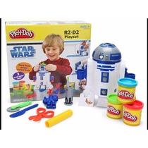 Star Wars Plastilina Play Doh Ensamble R2 D2