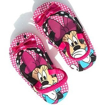 Sandalias Playeras Minnie Talla 29 Originales Disney