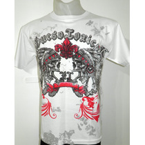 Remera Hombre Indian Skull - Rockeras - Punk - Metal