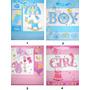 Sacola De Papel Para Presente Bebê Pequena - Kit 6 Unidades