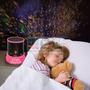 Proyector Estrellas Usb Luz De Noche Seguridad Niños Velador