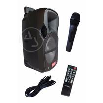 Altavoz Amplificado Recargable 8 Pulgadas Ridgeway+microfono