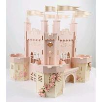 Centro De Mesa Castillo Xv Años Princesas Personalizado