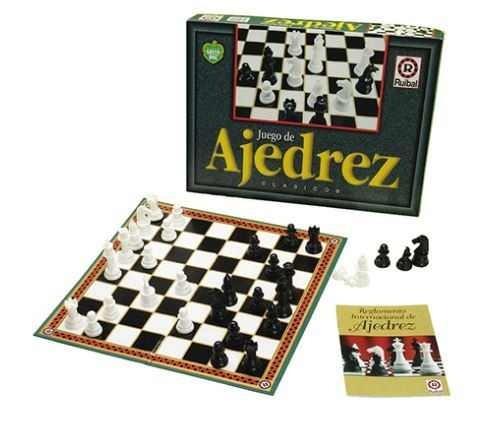 Juego De Ajedrez Clasico Juego De Mesa Original Ruibal 749 90 En