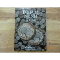 Album Coleccionador Buffalo Nickel 1913 - 1938