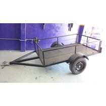 Trailer Batan Abierto / Cuatriciclo Nuevo C/ruedas