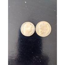 Numismatica Lote 1 Moneda 10 Cent. Año 1948 Y 20 Cent.1949
