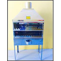 Churrasqueira Em Aço Inox Para Espetinhos-churrasquinho Mini