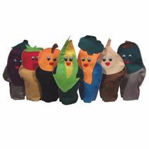 Fantoches Para Teatro, Legumes, Educação Nutricional