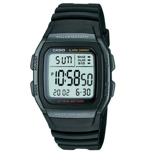 d6bbd08e7e7 Relógio Casio W-96h-1bv Preto Bateria 10anos Original W96 - R  125 ...