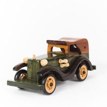 Miniatura Carro Antigo - Madeira