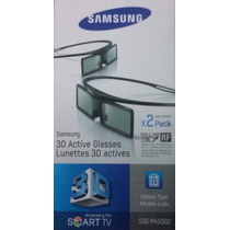 2 Óculos Samsung 3d Full Hd Ativo Ssg-4100gb Kit 2 Unidades