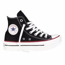 Zapatillas Converse Chuck Taylor All Star Plataforma Negro