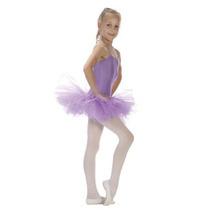 Sansha Niñas 4-6 Púrpura 5 Capas De Tul Tutú De La Danza De