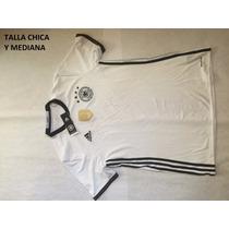 Playera Alemania Adidas Original Talla Mediana Y Chica