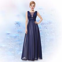 Sensual Vestido Gasa Escote Profundo Importado Moda Pasion