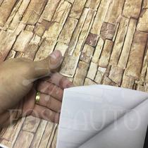 Adesivo Contact Imita Pedra Canjiquinha Decorativo 1m X 45cm
