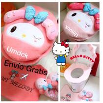 Hello Kitty My Melody Juego Set Baño