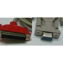 Cable Serial Impresora Tikera Fiscal Db9/db25 Equiprog