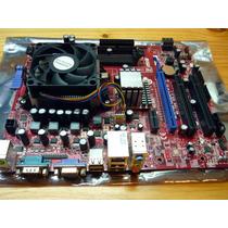 Mother Msi K9n6pgm2-v2 Socket Am2/am2+ Ddr2 + Sempron 140