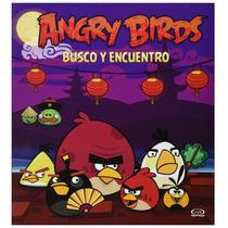 Libro Angry Birds Busco Y Encuentro *cj