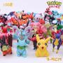 Lote De 10 Miniaturas Pokémon 3 ~5 Cm Pikachu Charizard