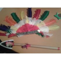 Disfraz Indio Americano Adulto Talla L .