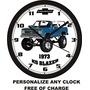 1973 Chevrolet Blazer K5 Reloj De Pared-libre De La Nave Ee