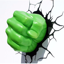 Lampara Avengers Hulk, Envio Gratis