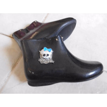 Bota Galocha Infantil Monster High Tam 30 Grendene Kids