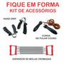 Kit De Acessórios Corda + Hand Grip + Extensor