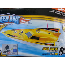 Lancha Radio Control Rc 2 Motores, 40cm., Quilmes- Once