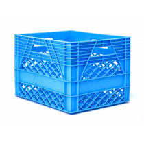 Caja De Plástico / Lechera 20 Litros/ Medidas: 44x33x27h