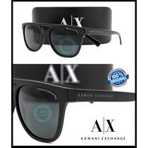 Gafas Armani Exchange Ax4032-814087 Black Mica Grey Solid