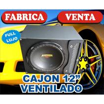 Cajon. Ventilado 12 Fulllujo. Con Logo. ..