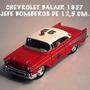 Chevy Belair 1957 Bomberil Kinsmart 12,5 Cm. Nueva S/caja Ok