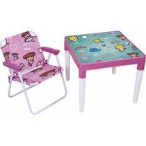 Conjunto Infantil Mesa + Cadeira Atlantis Marina