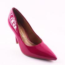 Sapato Scarpin Feminino Vizzano Bico Fino Lançamento