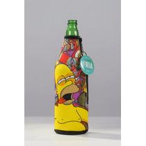 Siempre Fría Homero - Funda Térmica Para Cerveza ¡original!