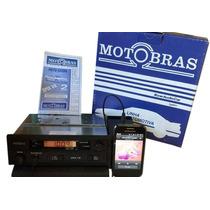 Rádio Am Fm Motobras (antiga Motoradio) Com Relógio Digital