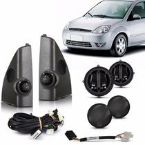 Kit Retrovisor Eletrico Fiesta Amazon Sedan 02 A 07