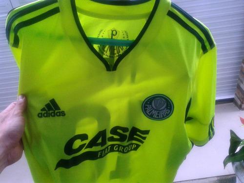 Camisa Do Palmeiras adidas Valdívia Nº 10 Verde Limão Usada - R  230 ... 00b076aaa4631