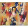 Cuadro Acrílilico Orig 60 X 50 Esencialismo Pintura Abstract