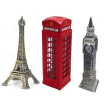 Torre Eifel + Cabine Londres + Big Ben