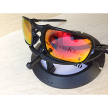 Oculos Oakley Badman Grafite Vr28 / Ruby Ice Black Iridium