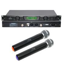 Fg Microfone Arcano Sem Fio Arc-100 Capsula Beta