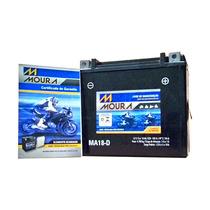 Bateria Aquática 800 Sx-r 800cc Moura Ytx20l-bs Ma18-d Moto